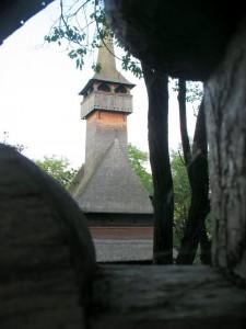Maramures, biserica din ieud deal